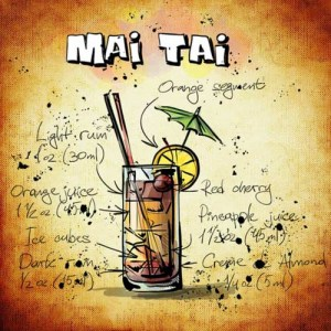 Cocktail mit Rum: Mai Tai
